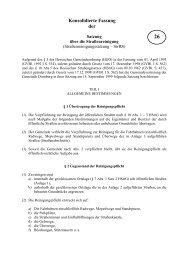 Satzung über die Erhebung einer Hundesteuer - Gemeinde Dornburg