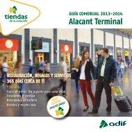 Guía comercial 2013-2014. Alacant Terminal