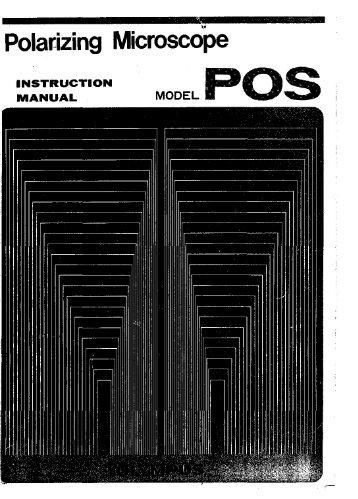 Olympus POS polarizing micr manual ENG.pdf - Gemini BV