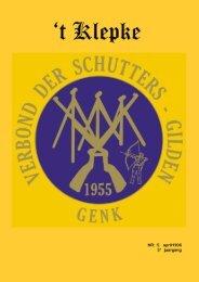 t Klepke nr. 5 april 1996 - Verbond der Schuttersgilden Genk