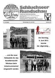 Rundschau Nr. 25.pdf - Gemeinde Schluchsee