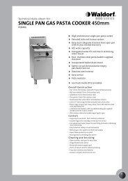 SINGLE PAN GAS PASTA COOKER 450mm - GoHospitality