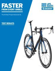 Download Test Data - Giant Bicycles