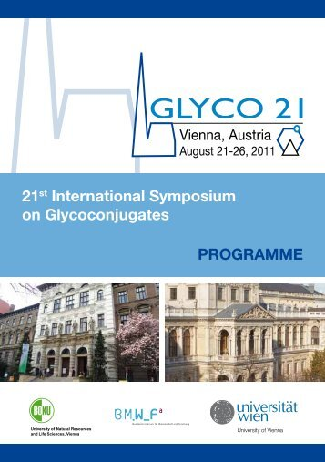 Final Programme [pdf] - Glyco 21