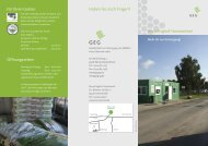 Für Ihren Garten Öffnungszeiten Recyclinghof Harsewinkel - GEG