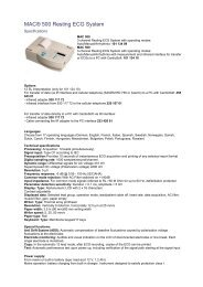 MAC® 500 Resting ECG System