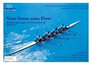 Vom Stress zum Flow