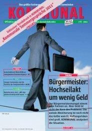 29.08.2011; PDF; 5,1 MB - Österreichischer Gemeindebund