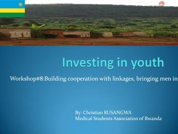 Workshop 8 - Christian Rusangwa