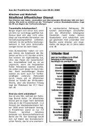 Stiefkind öffentlicher Dienst - (GdP) - Kreisgruppe Recklinghausen