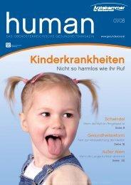 HUMAN Ausgabe 01/2008 - gesund-in-ooe.at