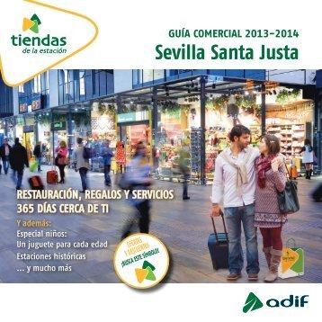 Guía comercial 2013-2014. Sevilla Santa Justa