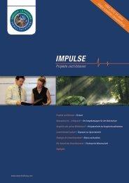 Projekte und Visionen IMPuLSE - Gregor Louisoder Umweltstiftung