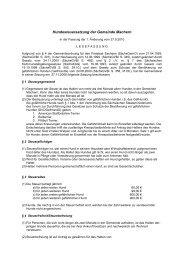 zum Download der Hundesteuersatzung - Gemeinde Machern