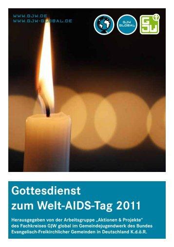 Gottesdienst zum Welt-AIDS-Tag 2011 - GJW