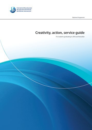 Creativity, action, service guide - The Godolphin and Latymer School