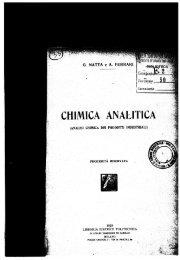 Analisi dei prodotti industriali - Giulio Natta