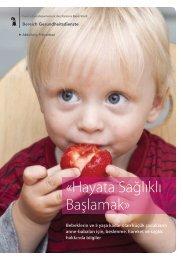 «Hayata Sağlıklı Başlamak» - Gesundheit.bs.ch - Basel-Stadt