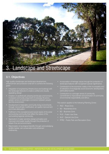 3. Landscape and Streetscape - City of Greater Geelong