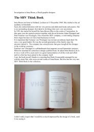 The SHV Think Book. - Gerrit Rietveld Academie