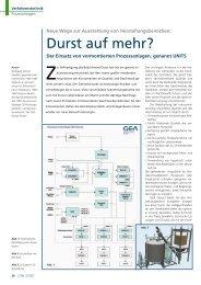 Durst auf mehr? - GEA Diessel GmbH
