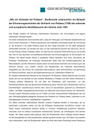 download method paper - Geschichtswerkstatt Europa