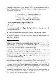 Oberwinkler Direktsaatseminare - bei der GKB eV