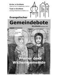September 2010 - Gemeindebote