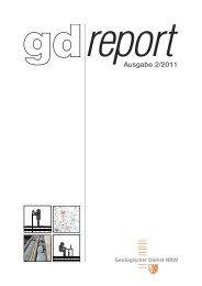gdreport 2/2011 - Geologischer Dienst NRW