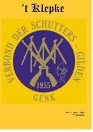 t Klepke nr. 1 april 1994 - Verbond der Schuttersgilden Genk
