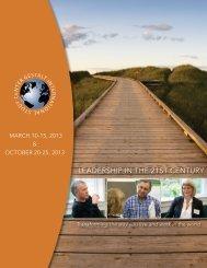 leadership in the 21st century - Gestalt International Study Center