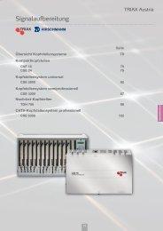 Signalaufbereitung - GLAMMER Industriebedarf KG