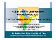 F&E in Indien: Chancen und Herausforderungen - Global Innovation