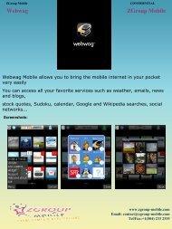 Webwag ZGroup Mobile - Get Mobile game
