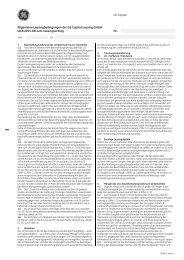 Allgemeine Leasingbedingungen der GE Capital Leasing GmbH