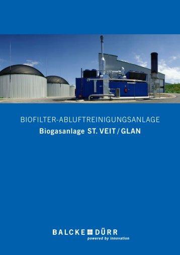 Biogasanlage, St. Veit / Glan - Balcke-Dürr