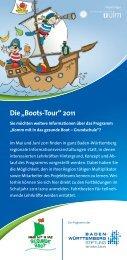 """Die """"Boots-Tour"""" 2011 - gesunde Boot"""
