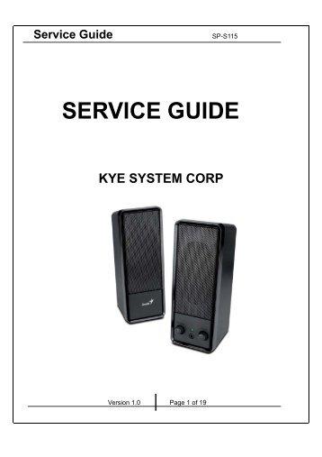 Sw-5. 1 1505 service guide. Pdf genius.