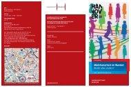 Weitere Infos bitte dem Flyer entnehmen - Gender Institut Bremen