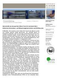18.03.2013: Geburtshilfe des Kemperhofs öffnete ... - Familienstark