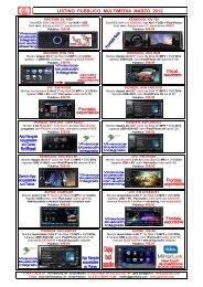 Listino GMA Multimedia Pubblico Mar 2012 - GMA Italia Srl