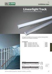 Lichtlinien starr Linearlight Track