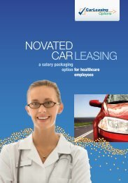 Car Leasing Options Information