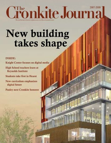 New building takes shape - The Walter Cronkite School of ...