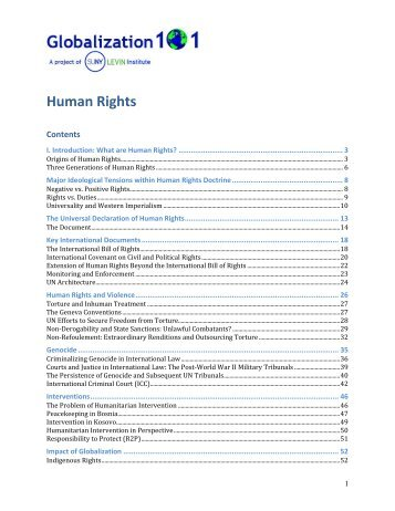introduction of human rights pdf