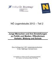 NÖ Jugendstudie 2012 Teil 2 (PDF)