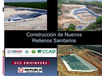 Protocolo de construcción y operación de Rellenos Sanitarios