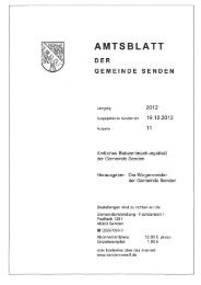 AMTSBL T - Gemeinde Senden