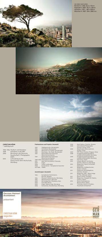 Flyer zur Ausstellung - germanhaimerl.de