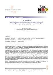 Infos und Anmeldung - Arbeitsgemeinschaft Norddeutscher Geologen